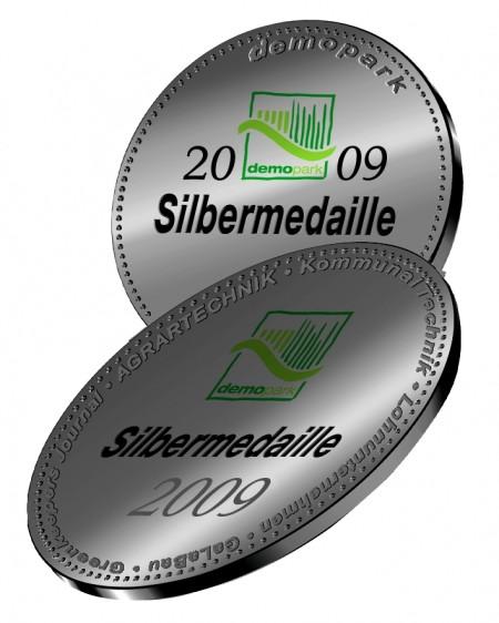 demopark Medaille Siber 2009
